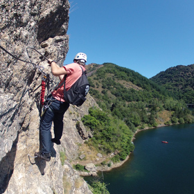 Via ferrata de Villefort